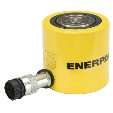 جک هیدرولیک کتابی RSM سری Single-Acting،Low Height Cylinder مارک انرپک Enerpac