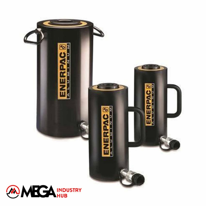 جک هیدرولیک سری RACH-series HOLLOW Plunger  Aluminum Cylinders مارک انرپک Enerpac