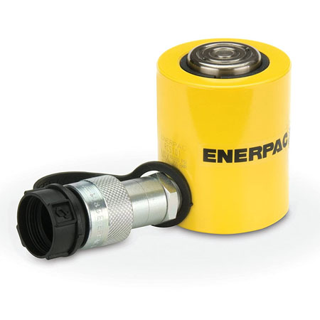 جک هیدرولیک کتابی RCS سری Single-Acting،Low Height Cylinder مارک انرپک Enerpac